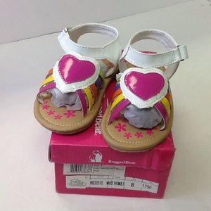 Other - Rugged Bear Girls RB32310 Sandals Sz 8